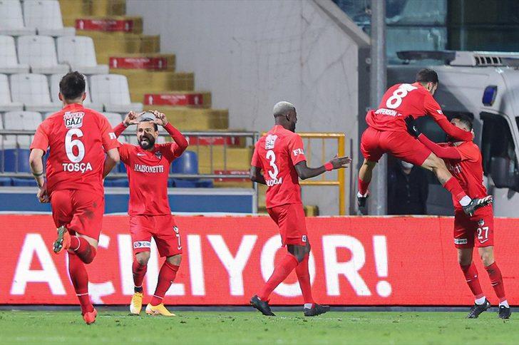 Kasımpaşa 0-4 Gaziantep FK (Maç sonucu)