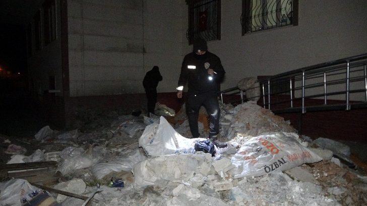 Adıyaman'da 'patlama sesi' polis ekiplerini alarma geçirdi