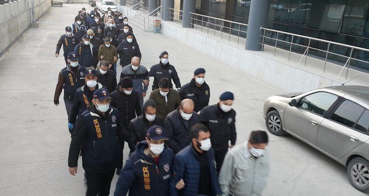 'Devletten 1000 TL destek' mesajıyla dolandırıcılık! 15 kişi tutuklandı