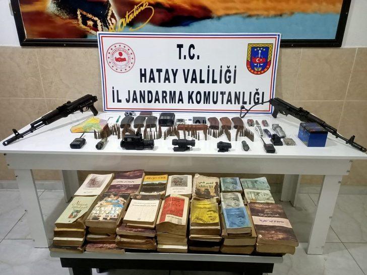 Amanoslarda PKK'ya ait silah ve mühimmat bulundu