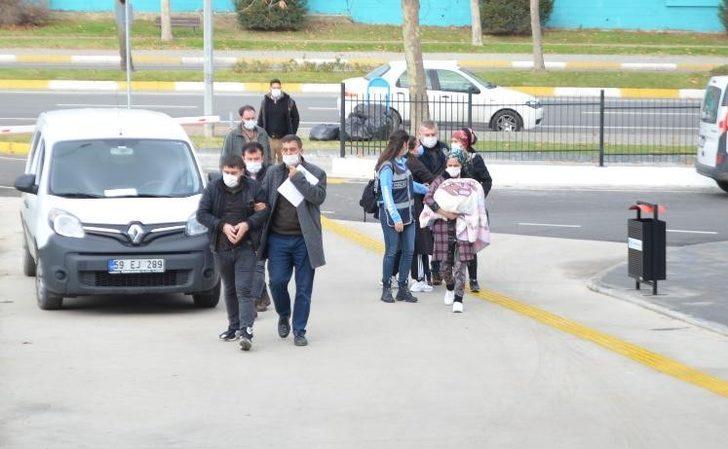 Anne ve oğlu yankesicilikten tutuklandı