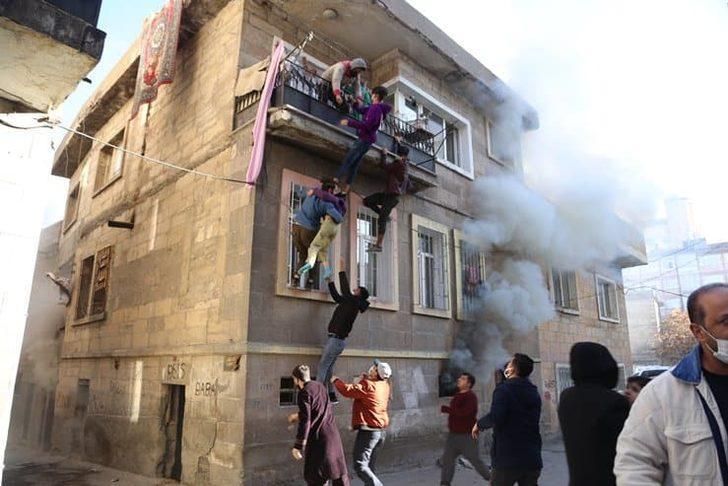 Nevşehir'de korkutan yangın! Yaralılar 'insan zinciriyle' kurtarıldı