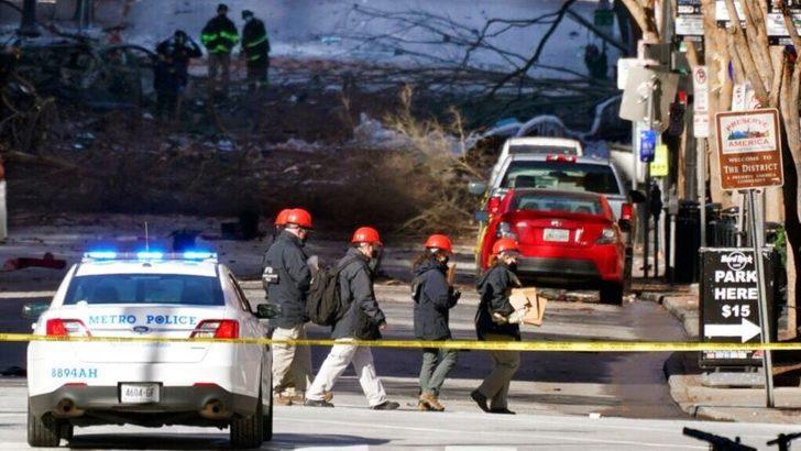 Nashville'deki Patlama Muhtemelen İntihar Bombası