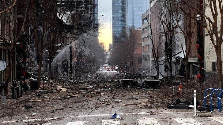 Nashville'deki karavan patlamasında zanlının kimliği belirlendi