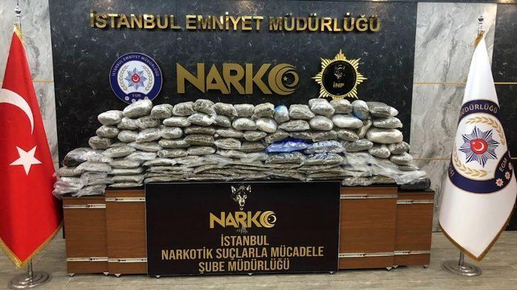 İstanbul'da uyuşturucu operasyonu: 17 şüpheli yakalandı