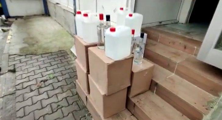 İstanbul'da yılbaşı öncesi 'sahte içki' operasyonu