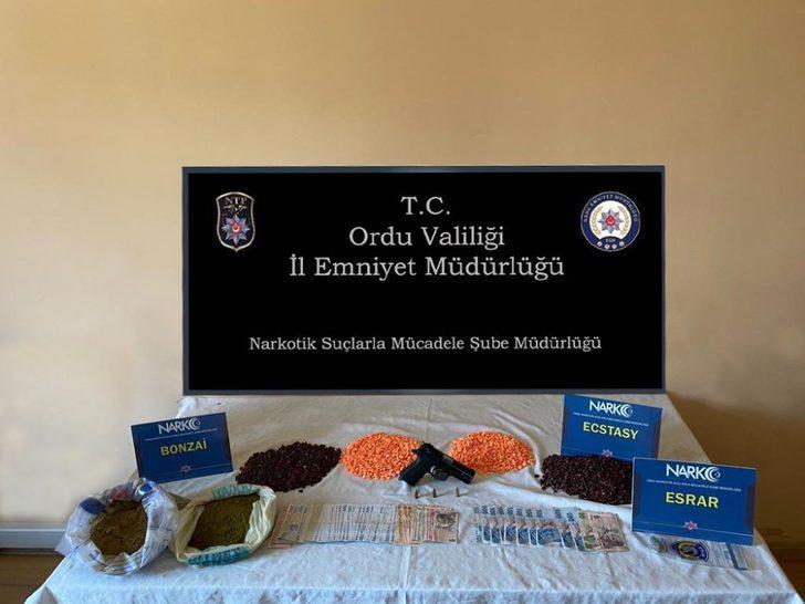 Ordu'da torbacı operasyonu: 12 gözaltı