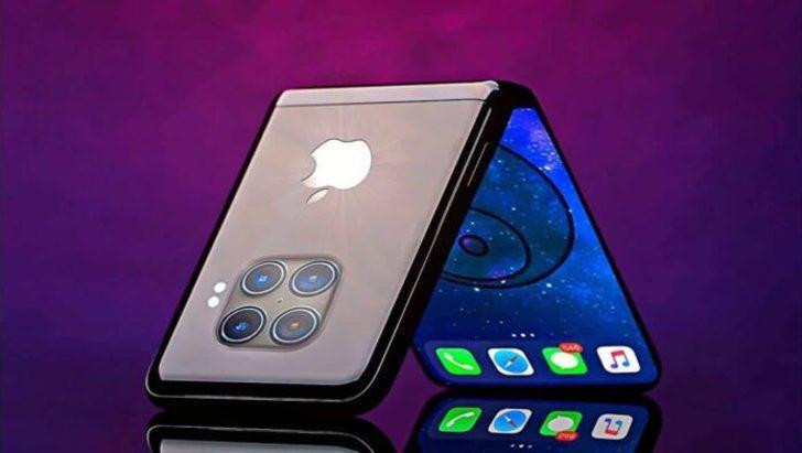 Apple, katlanabilir iPhone üzerindeki çalışmalarına hız verdi
