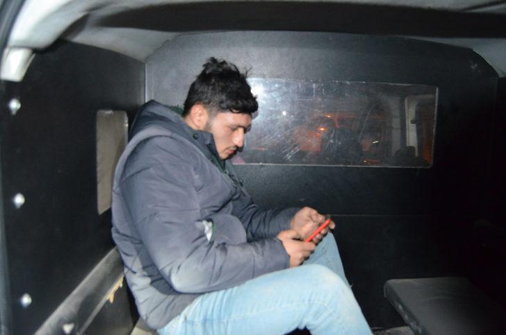 Kısıtlamaya uymayan genç, saklandığı apartmanın bodrumunda yakalandı