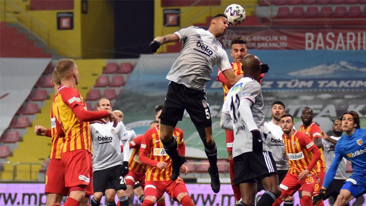 ÖZET | Kayserispor-Beşiktaş: 0-2
