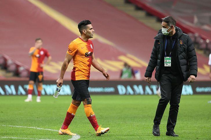 Radamel Falcao, Konya'da yok