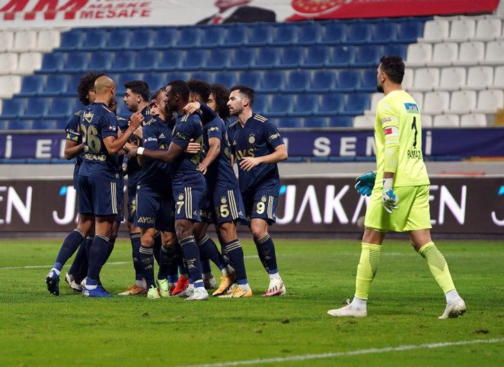 ÖZET | Kasımpaşa: 0 - Fenerbahçe: 3