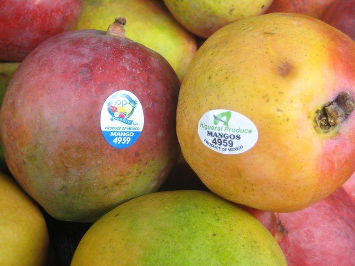 Süpermarketlerin reyolarındaki mevye ve sebzelerdeki etiketlerin anlamı nedir?