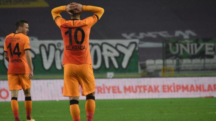 Galatasaray istikrar yakalayamadı