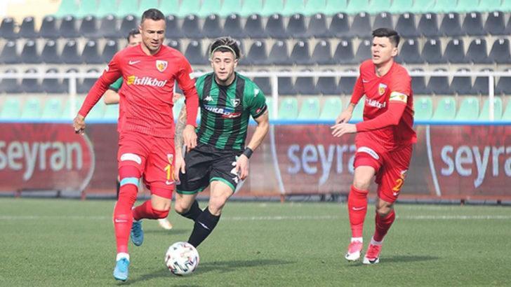 ÖZET | Denizlispor - Kayserispor maç sonucu: 0-1
