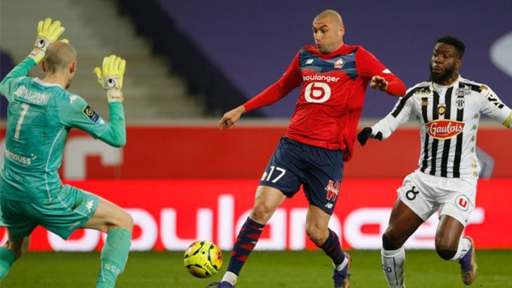 ÖZET | Lille -  Angers maç sonucu: 1-2