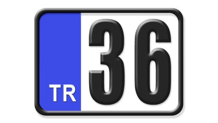 36 nerenin plakası? Hangi ilin araç plaka kodu 36?