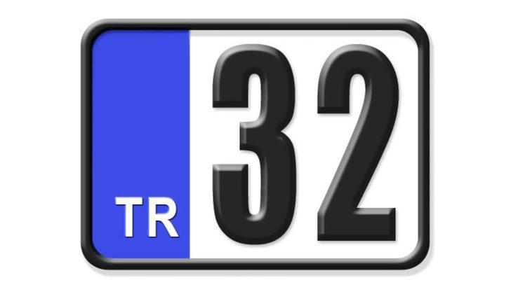32 nerenin plakası? Hangi ilin araç plaka kodu 32?