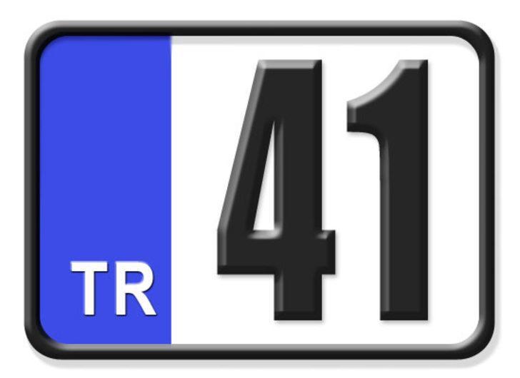 41 nerenin plakası? Hangi ilin araç plaka kodu 41?
