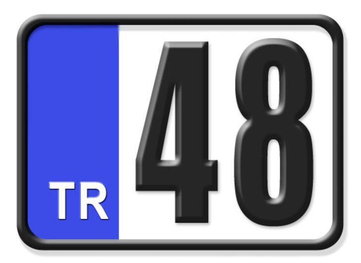 48 nerenin plakası? Hangi ilin araç plaka kodu 48?
