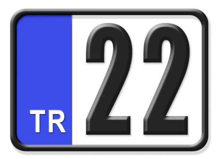 22 nerenin plakası? Hangi ilin araç plaka kodu 22?
