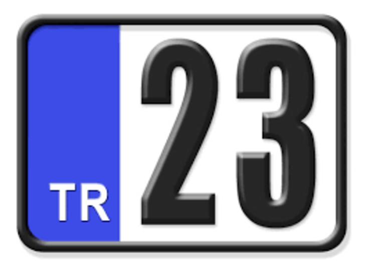 23 nerenin plakası? Hangi ilin araç plaka kodu 23?