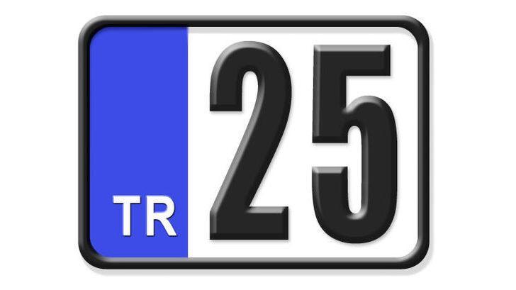 25 nerenin plakası? Hangi ilin araç plaka kodu 25?