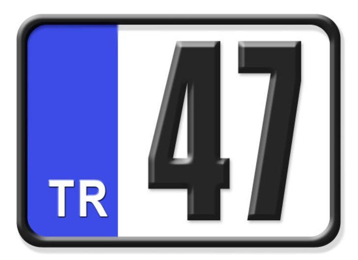 47 nerenin plakası? Hangi ilin araç plaka kodu 47?