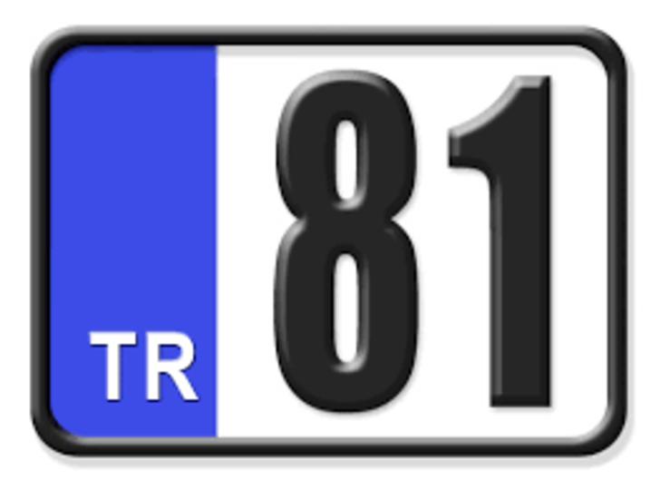 81 nerenin plakası? Hangi ilin araç plaka kodu 81?