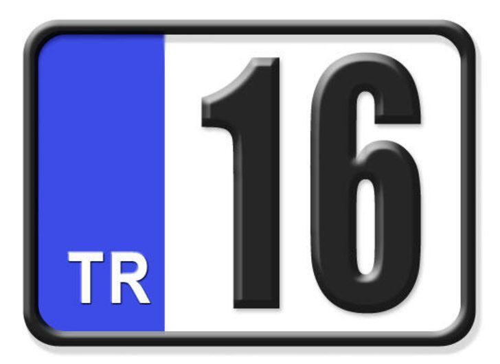 16 nerenin plakası? Hangi ilin araç plaka kodu 16?