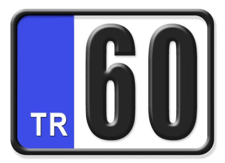 60 nerenin plakası? Hangi ilin araç plaka kodu 60?