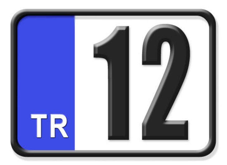 12 nerenin plakası? Hangi ilin araç plaka kodu 12?