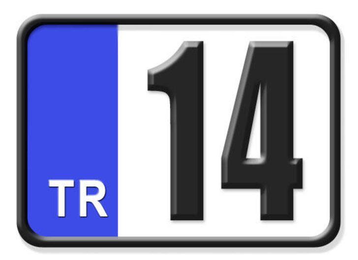 14 nerenin plakası? Hangi ilin araç plaka kodu 14?