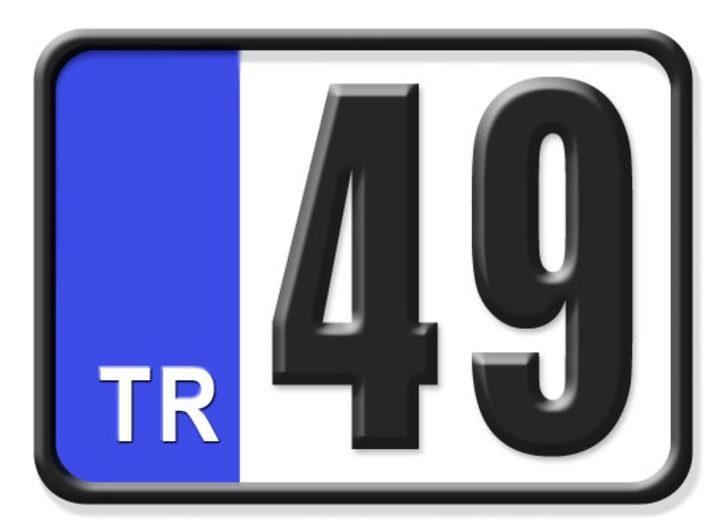 49 nerenin plakası? Hangi ilin araç plaka kodu 49?