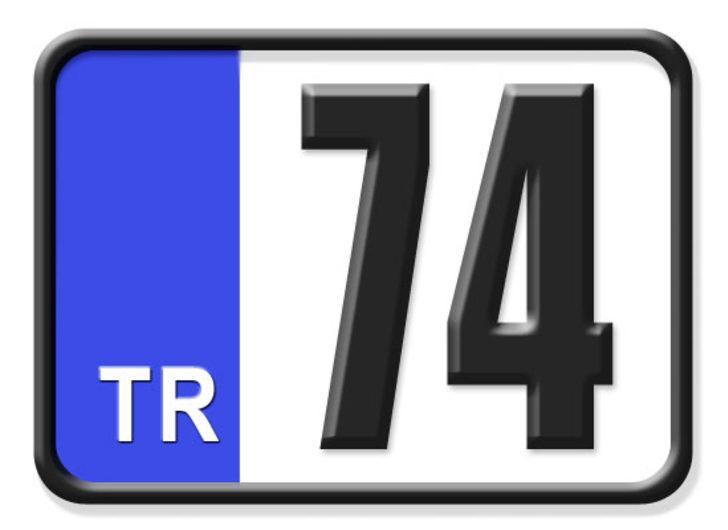 74 nerenin plakası? Hangi ilin araç plaka kodu 74?