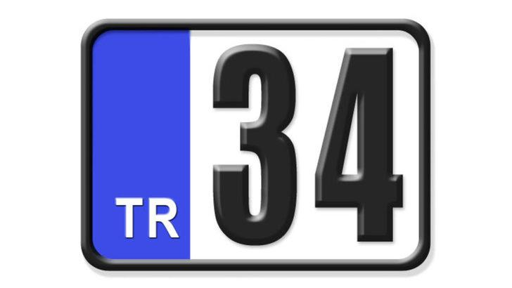 34 nerenin plakası? Hangi ilin araç plaka kodu 34?
