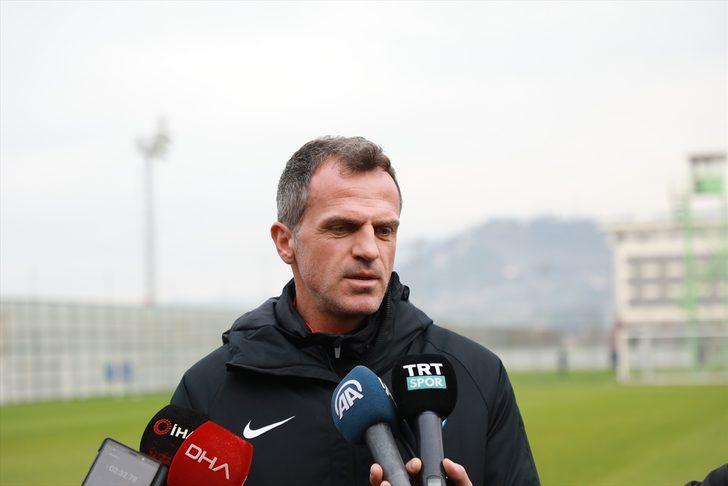 """Çaykur Rizespor Teknik Direktörü Tomas: """"Denizlispor maçını kazanarak üst sıralara çıkmak istiyoruz"""""""