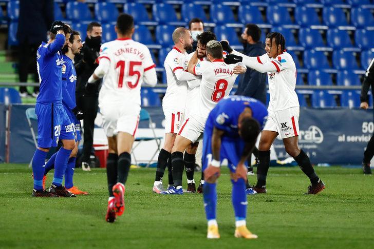 MAÇ SONUCU   Sevilla 3-2 Real Sociedad