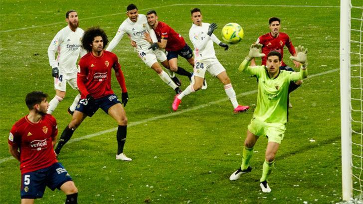 ÖZET | Osasuna - Real Madrid maç sonucu: 0-0