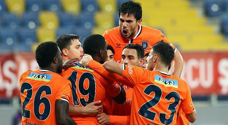 MKE Ankaragücü 1-2 Medipol Başakşehir (Maç sonucu)