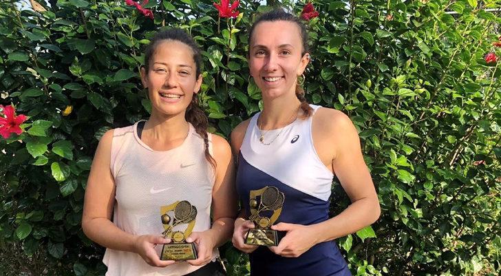 Milli tenisçiler İpek Öz ve Cemre Anıl, Antalya'da şampiyon