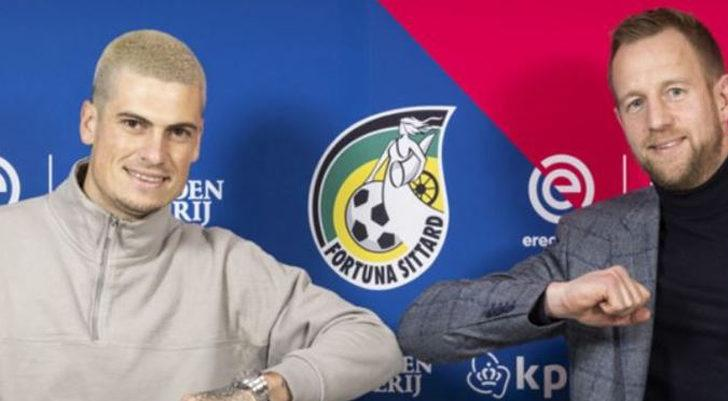 Kasımpaşalı futbolcu Tirpan, Fortuna Sittard'a kiralandı