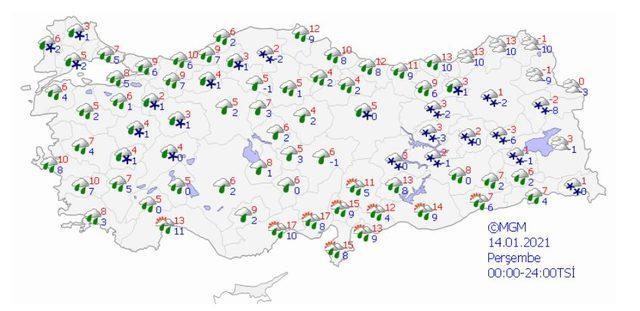 istanbul kar yagısı