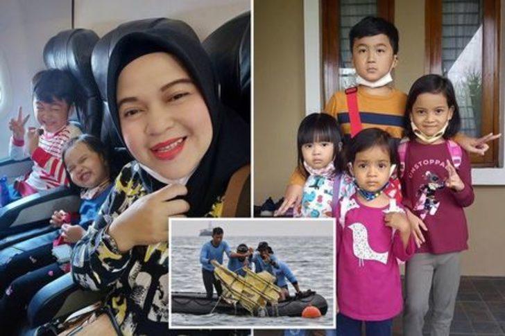 Endonezya'da kaybolan uçağın yolcularından bir annenin Instagram paylaşımı yürekleri burktu