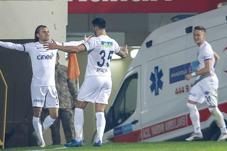 Alanyaspor-Kasımpaşa: 1-2 (Maç sonucu)