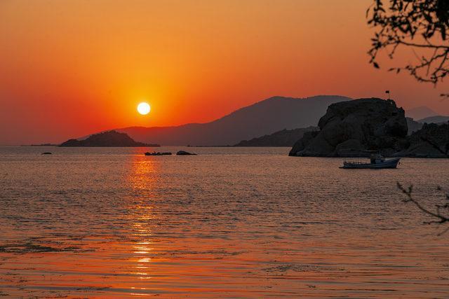 bafa gölü herakleia antik kenti