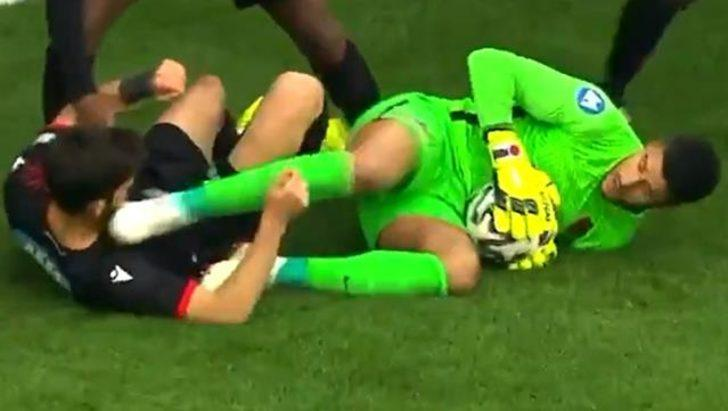 PFDK, Hatayspor'un kalecisi Munir'e 4 maç ceza verdi!