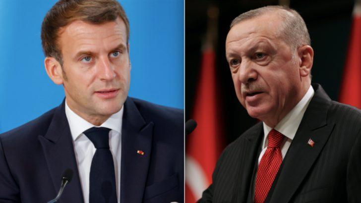 Erdoğan Bu Akşam Macron ile Görüşüyor