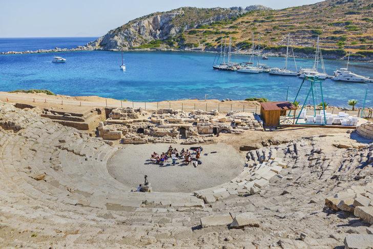 Knidos Antik Kenti nerede, nasıl gidilir? Knidos Antik Kenti tarihi, hakkında kısa bilgi