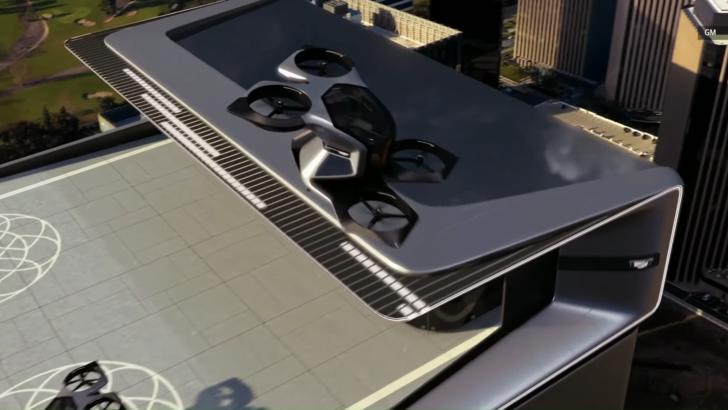 Cadillac gökyüzüne çıktı: General Motors, sürücüsüz uçan otomobilini tanıttı!